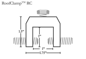Roofclamp Metal Roof Clamp